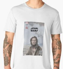 Obi Wan Comic Book Men's Premium T-Shirt