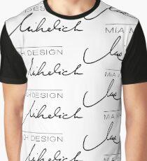 Mia Mihelich Design Graphic T-Shirt