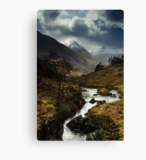 River Shiel Canvas Print