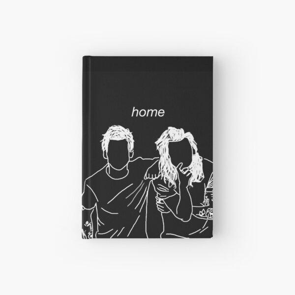 """""""hogar"""" Larry Stylinson Cuaderno de tapa dura"""