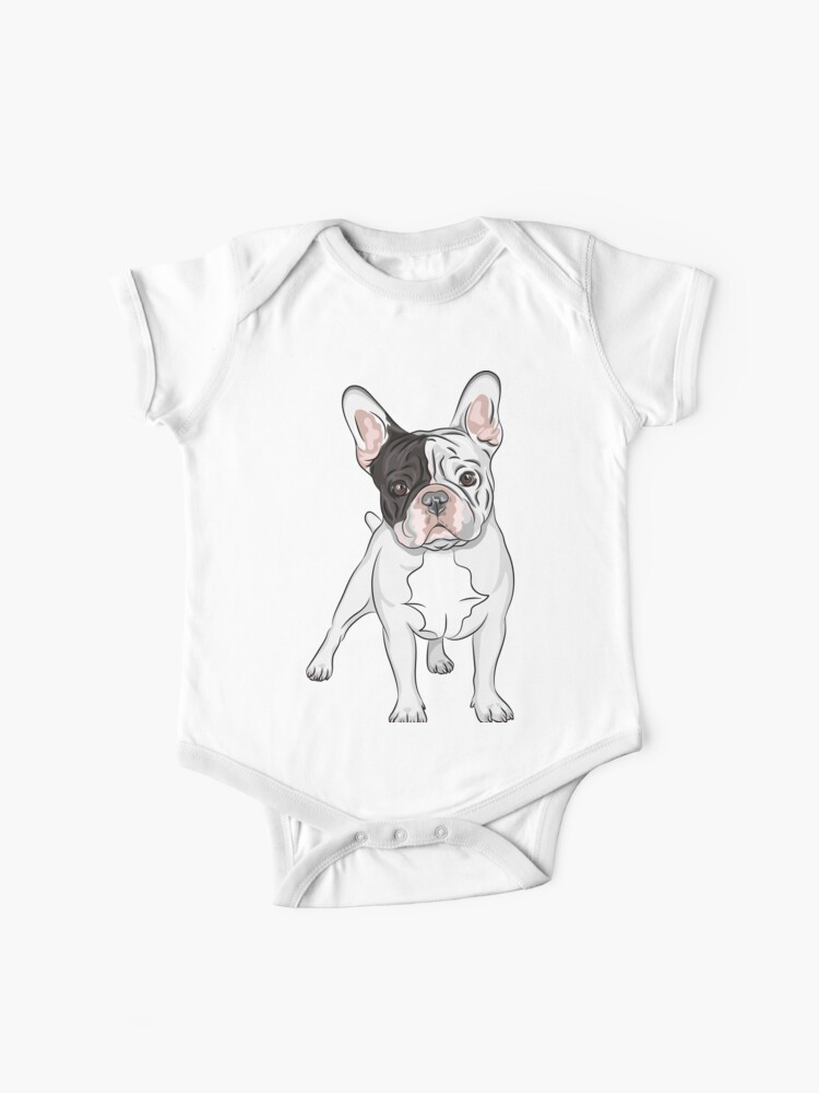 Cute Sweatshirt Long-Sleeve French Baby Bulldog in Love Shirts for Boys 2T-6T