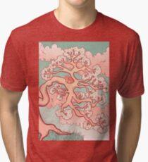 Sweet Dreams, Red Panda Tri-blend T-Shirt