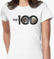 The 100 - Clexa S3 (3.16) Womens Fitted T-Shirt