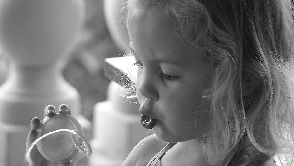 Blowing Bubbles by Matthew Weaver