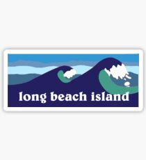 long beach island  Sticker