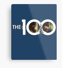 The 100 - Blakes S1 (white) Metal Print