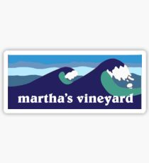 martha's vineyard Sticker