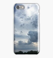 clouds roll by iPhone Case/Skin