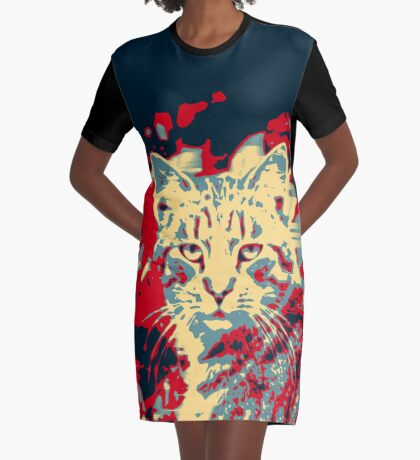 SUP!? Graphic T-Shirt Dress