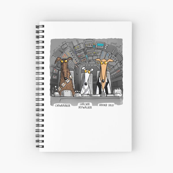 Hound Solo (assorted) Spiral Notebook