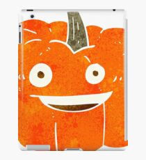 retro cartoon halloween pumpkin iPad Case/Skin