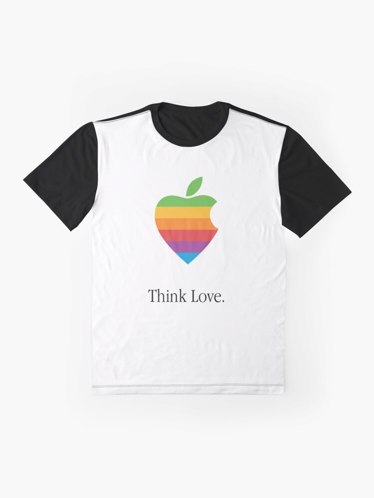Alternate view of Think Differently About Love Graphic T-Shirt