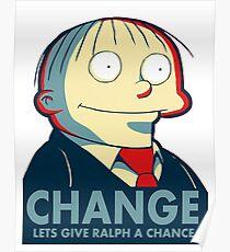 Ralph Wiggum for President 2016 Poster