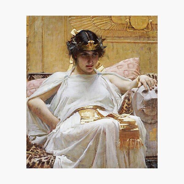 John William Waterhouse - Cleopatra Photographic Print