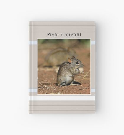 Striped Grass Mouse (Rhabdomys pumilio) Hardcover Journal