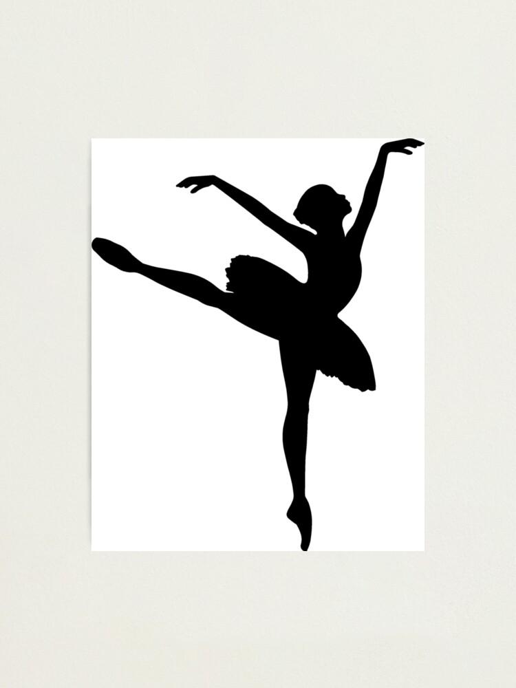 Ballet Dancer Print