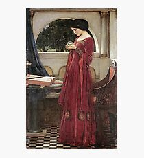 John William Waterhouse - The Crystal Ball Photographic Print