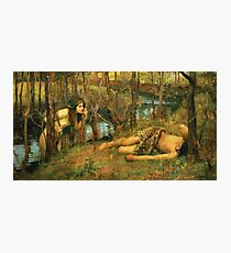 John William Waterhouse - The Naiad 1893 Photographic Print