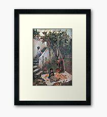John William Waterhouse - The Orange Gatherers Framed Print