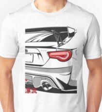 Subie BRZ Fragment Slim Fit T-Shirt