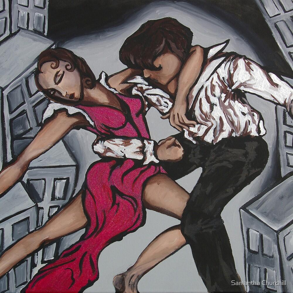 Dancers by Samantha Churchill