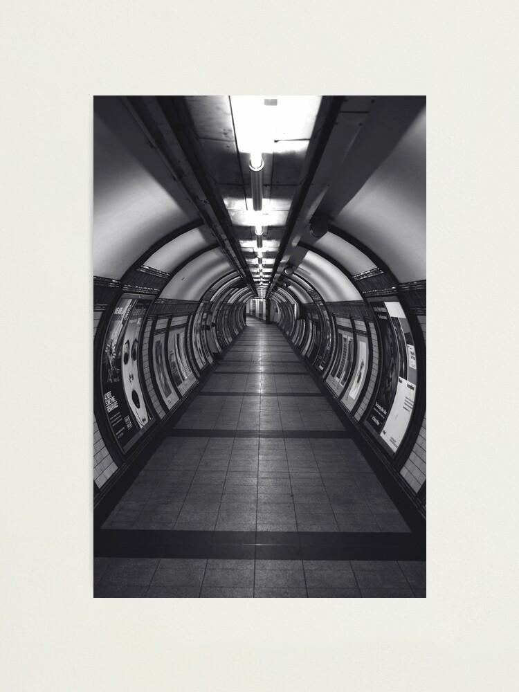 Alternate view of Embankment Underground Station. (London, UK) Photographic Print