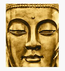 Golden Face Photographic Print