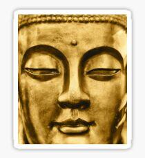 Golden Face Sticker