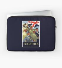Together -- British Empire WWII Laptop Sleeve