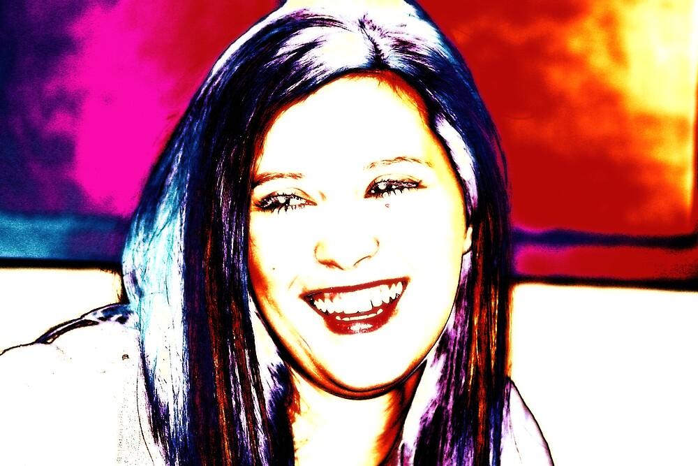 Shelby smiles by seandraper