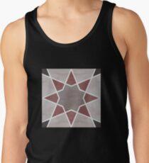 Cordoba tiles - grey and red Camisetas de tirantes para hombre