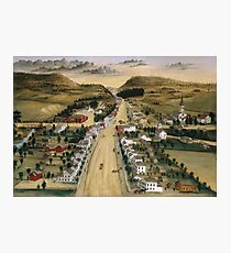 Joseph H. Hidley - View Of Poestenkill, New York Photographic Print