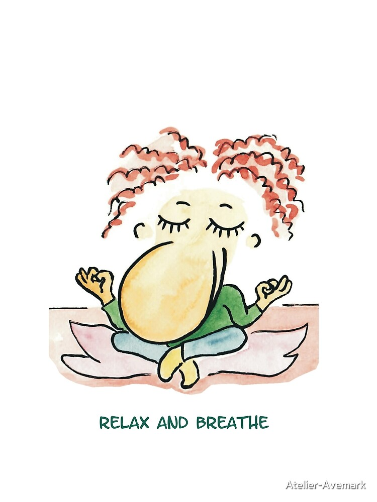 relax and breathe by Atelier-Avemark