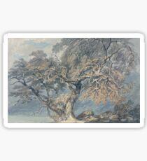 Joseph Mallord William Turner - A Great Tree, 1796 Sticker