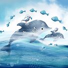 Dolphin Love by Karin Taylor