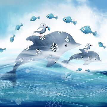 Dolphin Love by karin