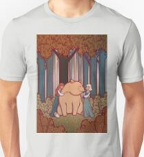 Snow White and Rose Red Unisex T-Shirt