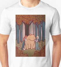 Snow White and Rose Red T-Shirt