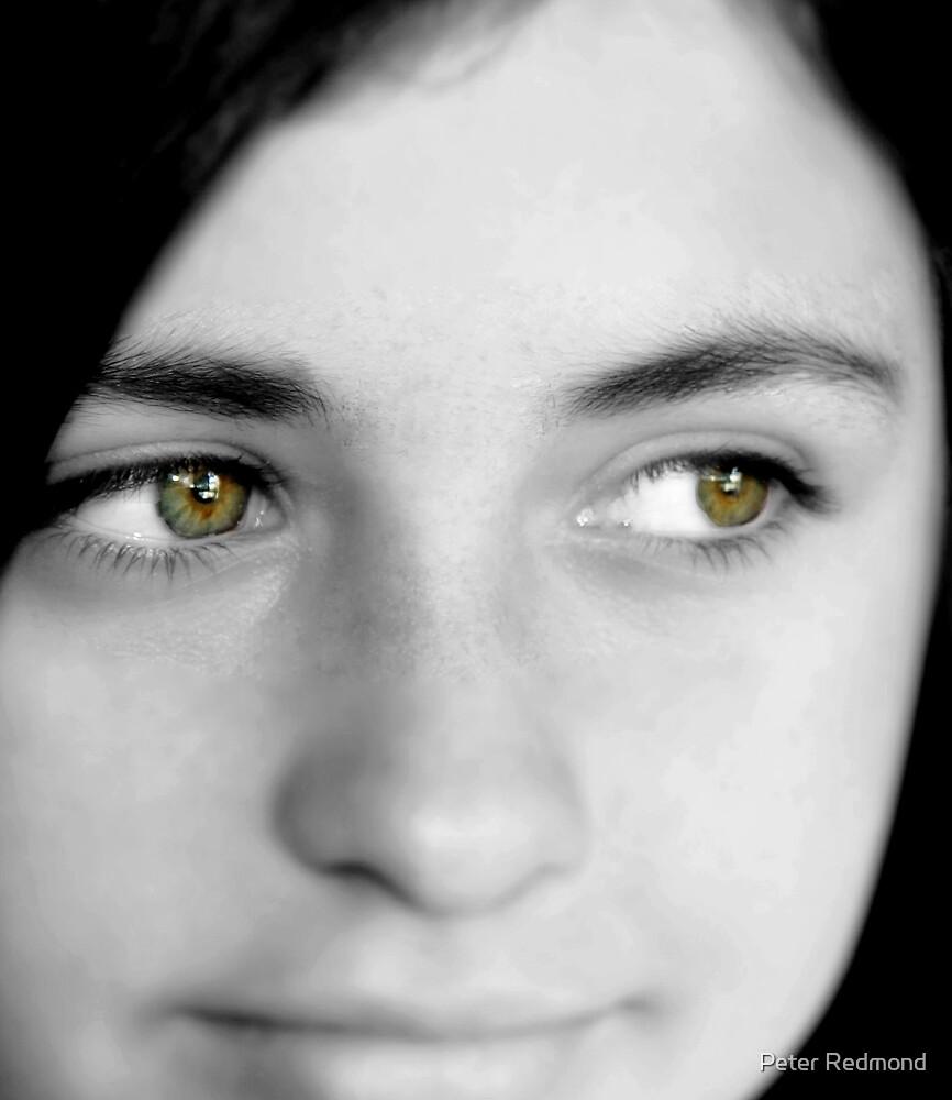 ...love those hazel eyes... by Peter Redmond