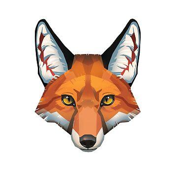 Fox Face by PaulaLucas