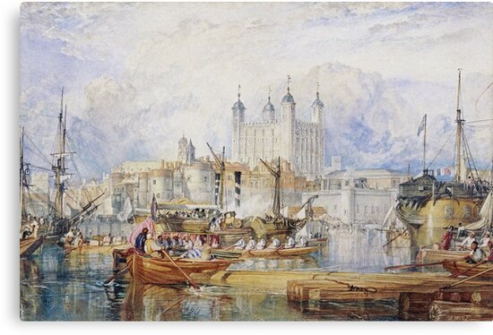 Joseph Mallord William Turner - The Tower Of London by artcenter
