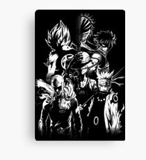 anime mix  Canvas Print