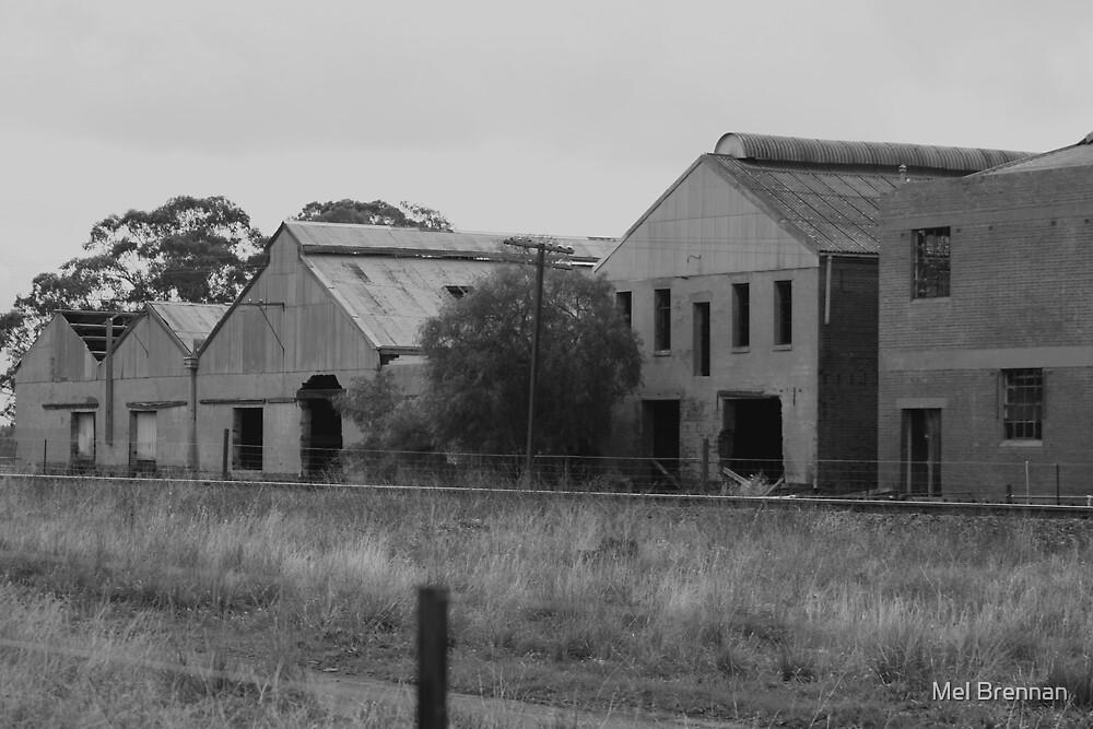 Old Train Station by Mel Brennan