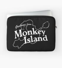 GREETINGS FROM MONKEY ISLAND Laptop Sleeve