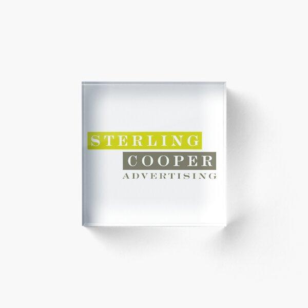 Mad Men, Sterling Cooper Bloc acrylique
