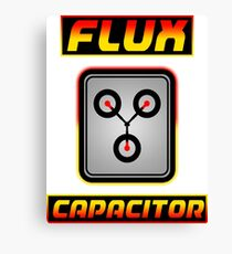 Flux Capacitor Canvas Print