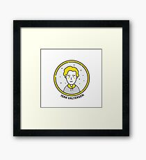 SKAM - Isak Icon Graphics Framed Print