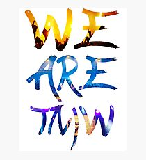 TOMORROWLAND ARTWORK : WE ARE TOMORROW Photographic Print