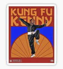 Kung Fu Kenny Sticker