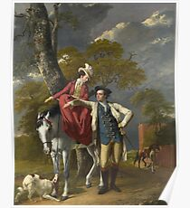 Joseph Wright of Derby - Mr And Mrs Thomas Coltman Poster